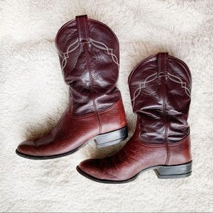 6a6b634b947 Tony Lama Shoes | Hd Western Work Boots Dr01014 Sz 9 | Poshmark